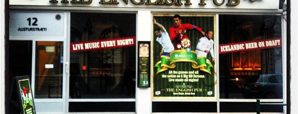 The English Pub is one of Iceland Trip.