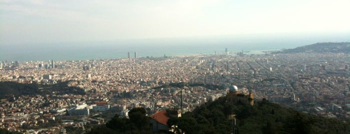 Tibidabo is one of Best views in Barcelona.