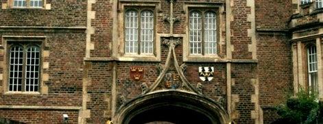 Jesus College is one of Lieux qui ont plu à Selin.