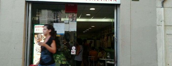 Gelateria Caffeteria Italiana is one of Sweets Barcelona.