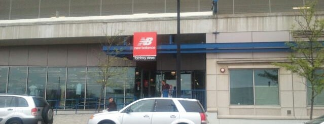 New Balance Factory Store is one of Boston.