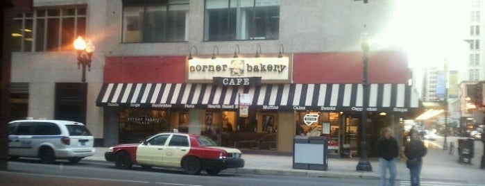 Corner Bakery Cafe is one of Places I went to with hubby.