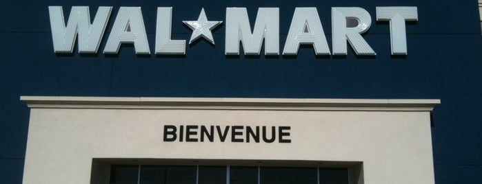 Walmart Supercentre is one of Lieux qui ont plu à Vincent.