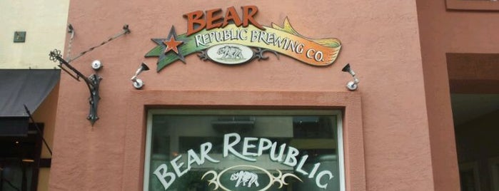 Bear Republic Brewery is one of California Breweries.