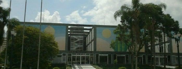 Prefeitura de Curitiba is one of meus lugares.