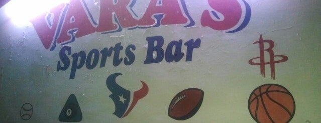 Vara's Lounge is one of Places to try in Houston.