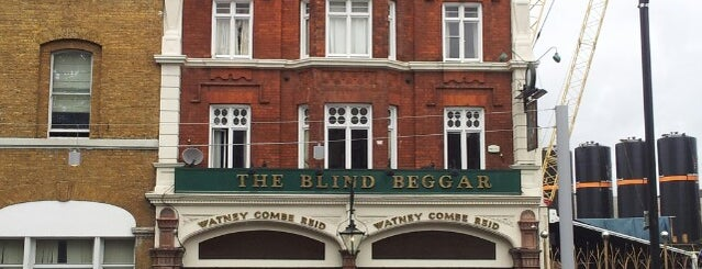 The Blind Beggar is one of Tempat yang Disukai Carl.