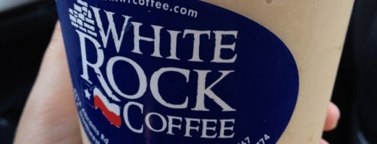 White Rock Coffee is one of Dallas.