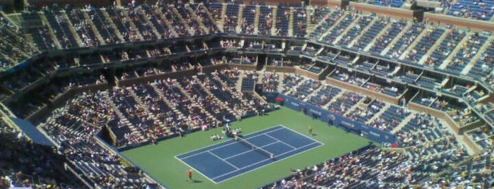Arthur Ashe Stadium is one of Top Picks for Sports Stadiums/Fields/Arenas.
