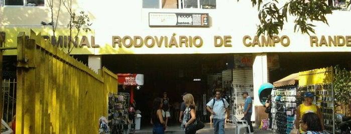 Terminal Rodoviário de Campo Grande is one of Felipe : понравившиеся места.