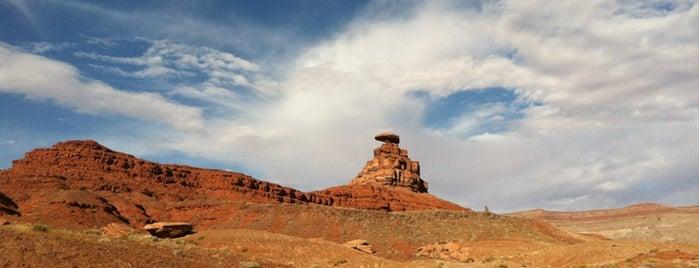 Mexican Hat Rock is one of Utah + Vegas 2018.