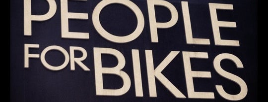 People For Bikes is one of en la roma....