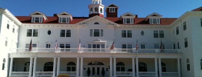 Stanley Hotel is one of Best Haunts and Scares In United States-Halloween.