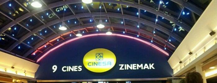Yelmo Cines Artea is one of Tempat yang Disukai Ione.