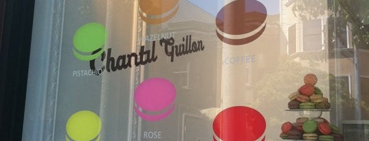 Chantal Guillon Macarons & Tea is one of Kick-A$$ To Do List in SF.