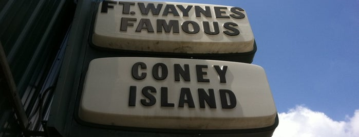 Coney Island is one of To Dizzle In Fort Wizzle.