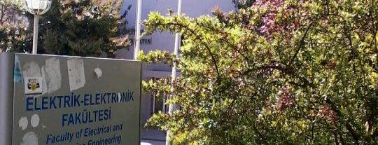 Elektrik Elektronik Fakültesi is one of Fakülteler ve Yüksekokullar.