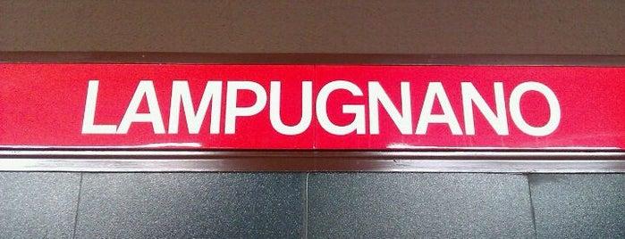 Metro Lampugnano (M1) is one of Swiss been.