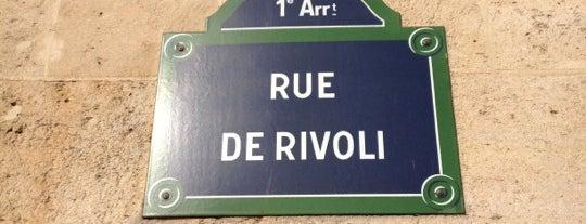 Rue de Rivoli is one of Euro.