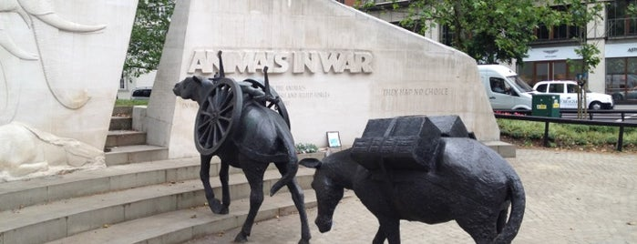 Animals In War Memorial is one of Spring Famous London Story.