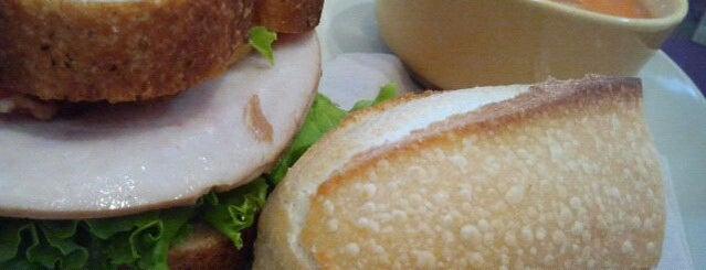 Panera Bread is one of York College Student Hotspots.