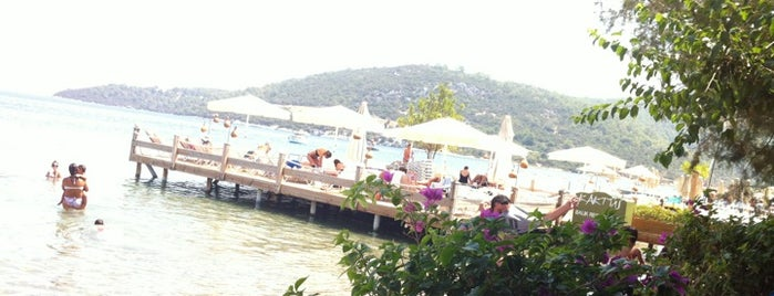 Kaktus Beach is one of Guide to Bodrum's best spots.