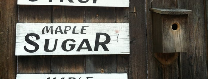 Rathbun's Maple Sugar House is one of สถานที่ที่บันทึกไว้ของ Rachel.