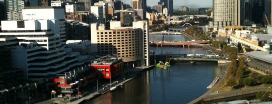 Hilton Melbourne South Wharf is one of Orte, die Hugo gefallen.