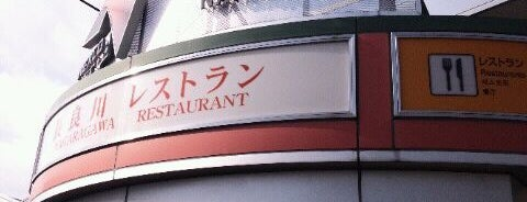 長良川SA (下り) is one of Lugares favoritos de Shigeo.