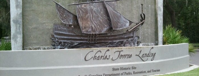 Charles Towne Landing is one of Restaurants in Charleston.
