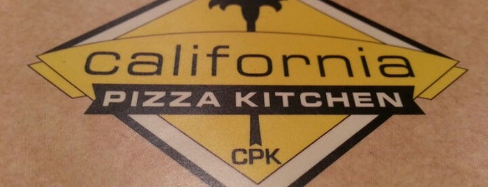 California Pizza Kitchen at Hollywood is one of Dee's LA favorites.