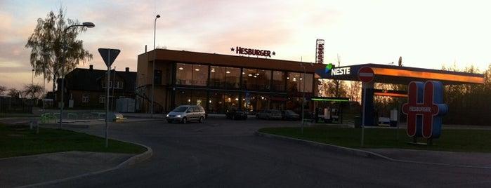 Hesburger - Jēkabpils is one of Restorāni,bāri,klubi LV.
