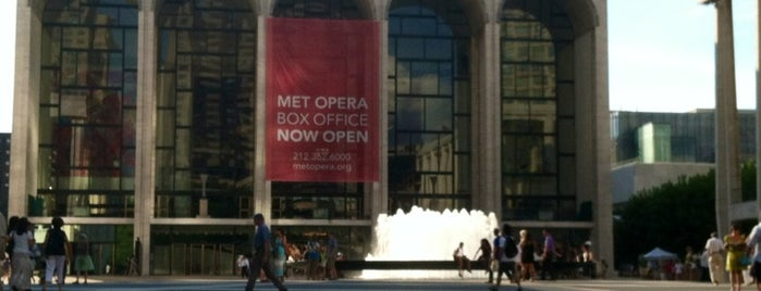 Lincoln Center is one of Guide to New York's best spots.