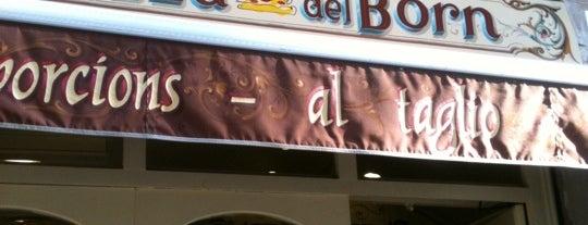 La Pizza del Born is one of Barcelona.