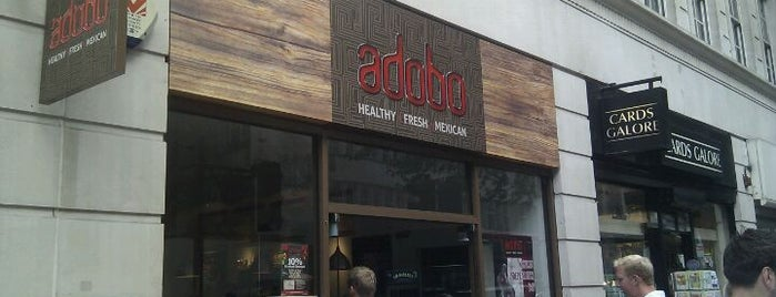 Adobo is one of London to-do.