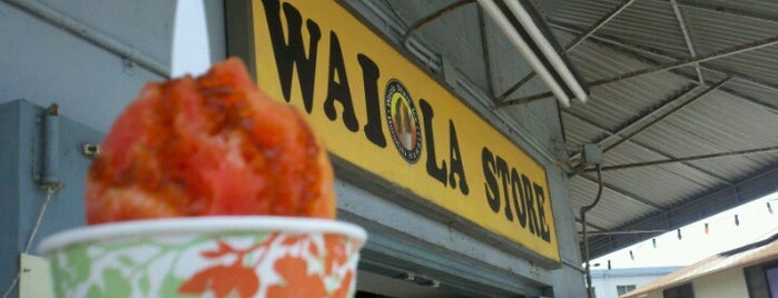 Waiola Shave Ice is one of Local's Guide to Hawaii.