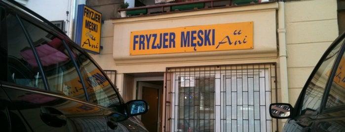 Fryzjer Męski U Ani is one of Łazarz.
