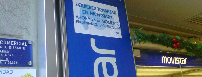 Movistar is one of Ofertas de Trabajo Comercios Barcelona.