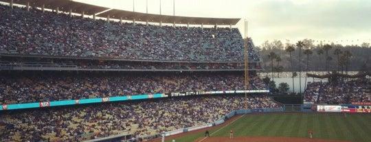 Dodger Stadium is one of California, CA.
