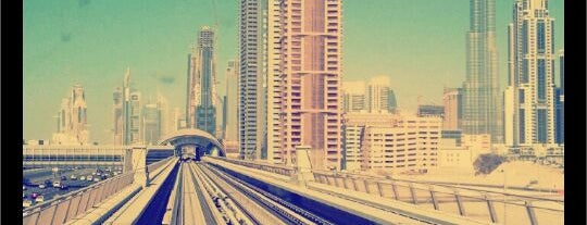 Dubai Internet City Metro Station is one of Must Visit Dubai #4sqCities.