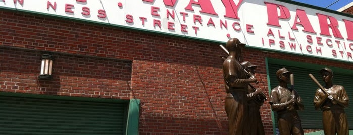 Fenway Park is one of Sports Stadiums/Arenas/Parks.