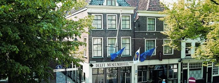 Best Western Museumhotels Delft is one of สถานที่ที่ Thomas ถูกใจ.