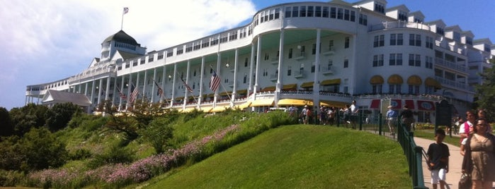 Grand Hotel is one of Best Places to Check out in United States Pt 3.