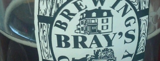 Bray's Brew Pub is one of Best breweries, brew pubs, and beer bars.