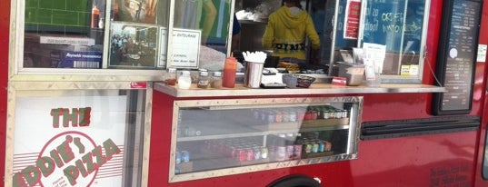 The Eddie's Pizza Truck is one of Our Favorite Food Trucks!.