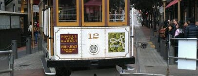 Powell Street Cable Car Turnaround is one of My SF Bucket List.