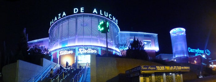 Plaza Aluche is one of Madrid.