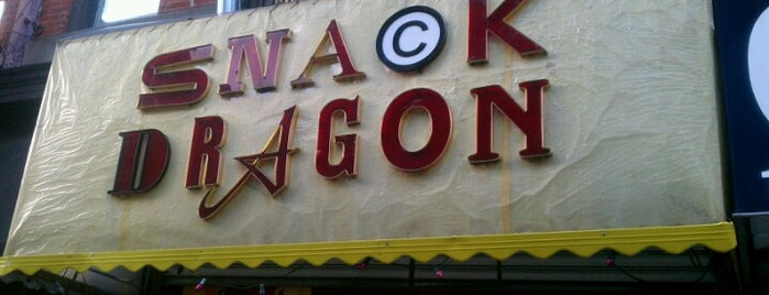 Snack Dragon is one of New Yawk: NYC To-Dos.