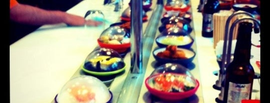 YO! Sushi is one of All You Can Eat.