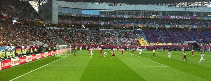 Арена Львів is one of 'Stadium Talk'....